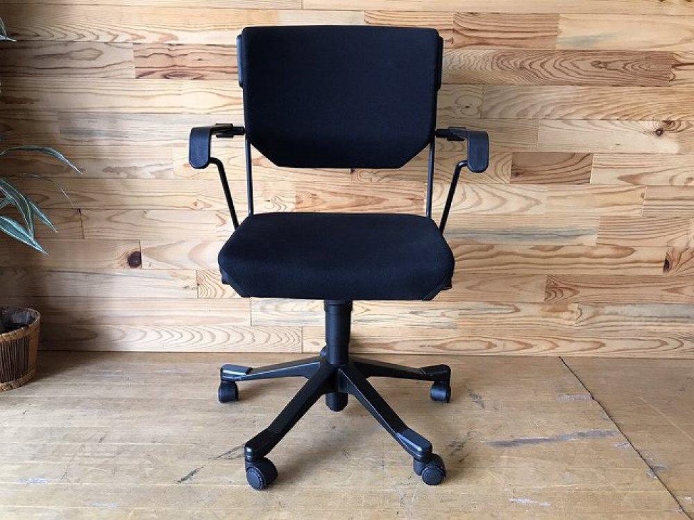ジロフレックス giroflex 33 オフィスチェア 肘付 ブラック 事務椅子 出張買取 | 長野県諏訪市 写真2