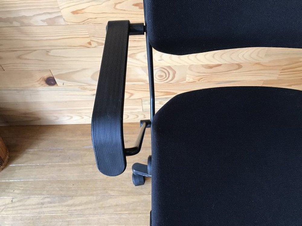 ジロフレックス giroflex 33 オフィスチェア 肘付 ブラック 事務椅子 出張買取 | 長野県諏訪市 写真6