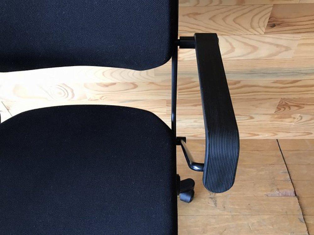 ジロフレックス giroflex 33 オフィスチェア 肘付 ブラック 事務椅子 出張買取 | 長野県諏訪市 写真7