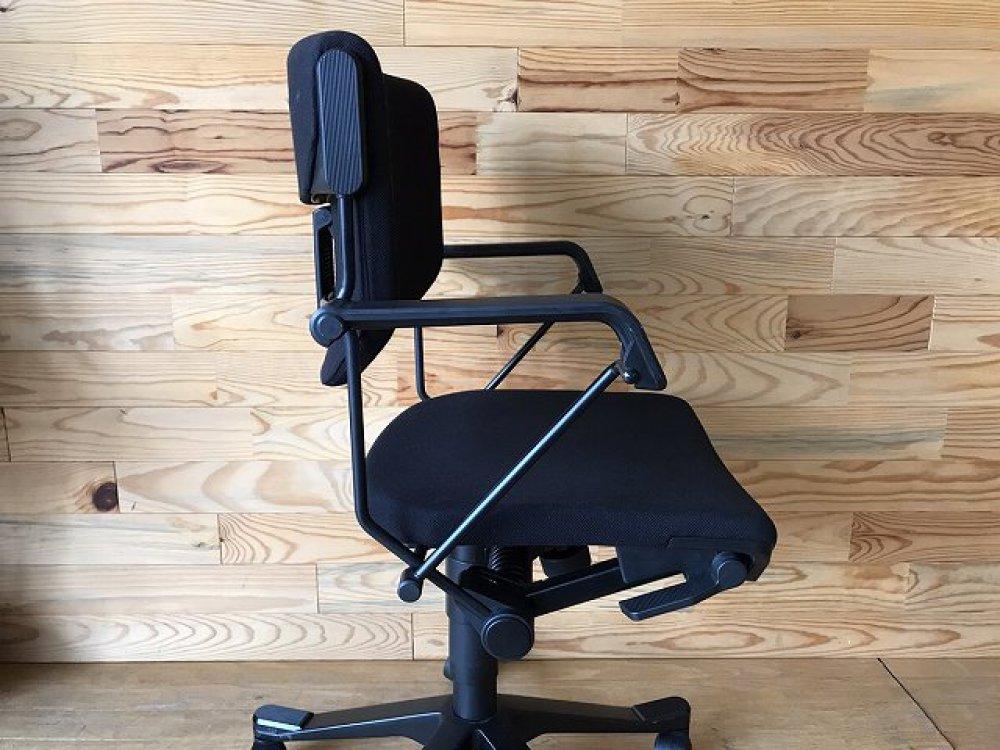 ジロフレックス giroflex 33 オフィスチェア 肘付 ブラック 事務椅子 出張買取 | 長野県諏訪市 写真9