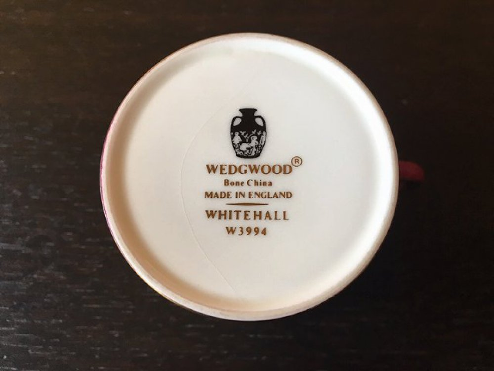 WEDGWOOD ウェッジウッド カップ&ソーサー ホワイトホール Wパウダールビー ブランド食器買取 | 長野県塩尻市 写真10