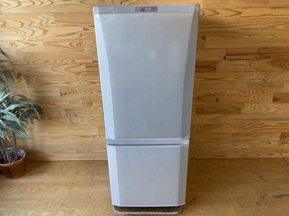 MITSUBISHI 三菱 冷凍冷蔵庫 MR-P15A-S 家電 出張買取   長野県安曇野市