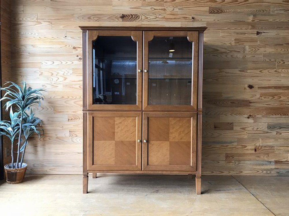 ディスプレイ 飾り棚 キャビネット リビング収納 カップボード 食器棚 シェルフ ラック 出張買取 | 長野県上田市