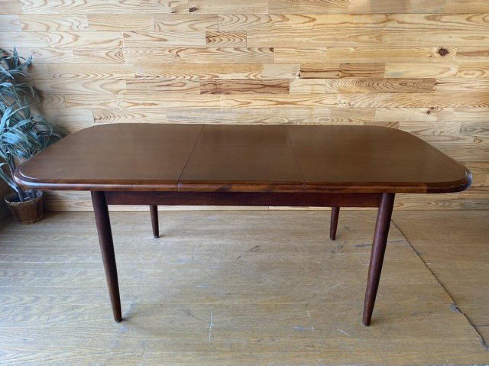 日進木工 飛騨高山の家具 ダイニングテーブル 伸長式 ビンテージ 北欧デザイン 出張買取 | 長野県佐久市