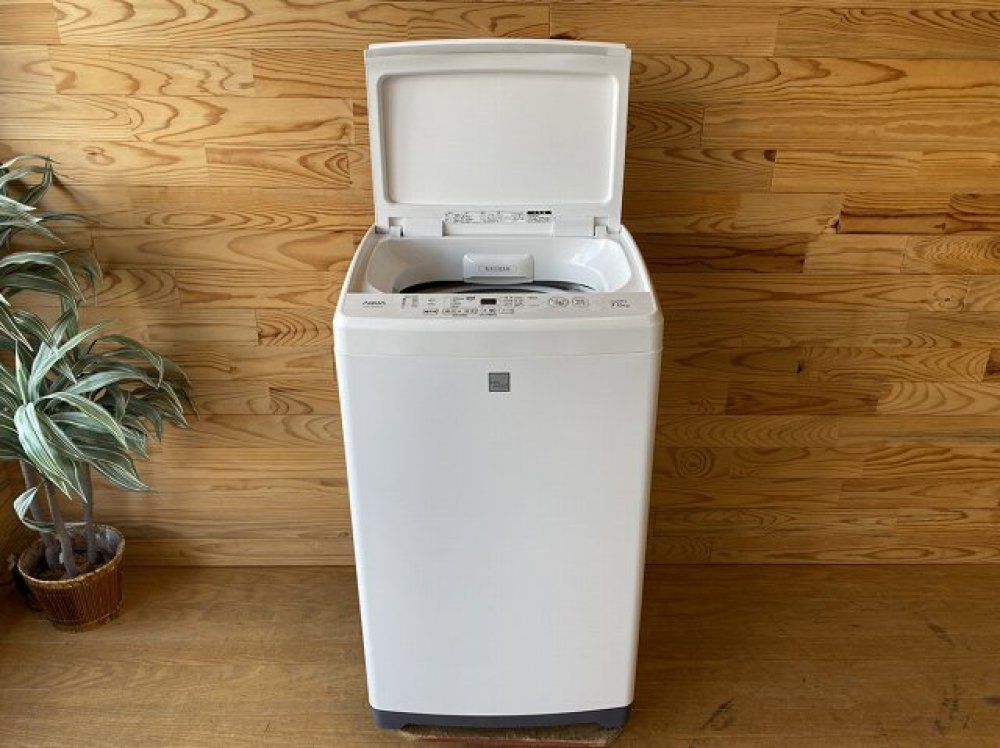 AQUA アクア 全自動洗濯機 AQW-GP7E6 7.0kg 2018年製 家電 出張買取   長野県塩尻市