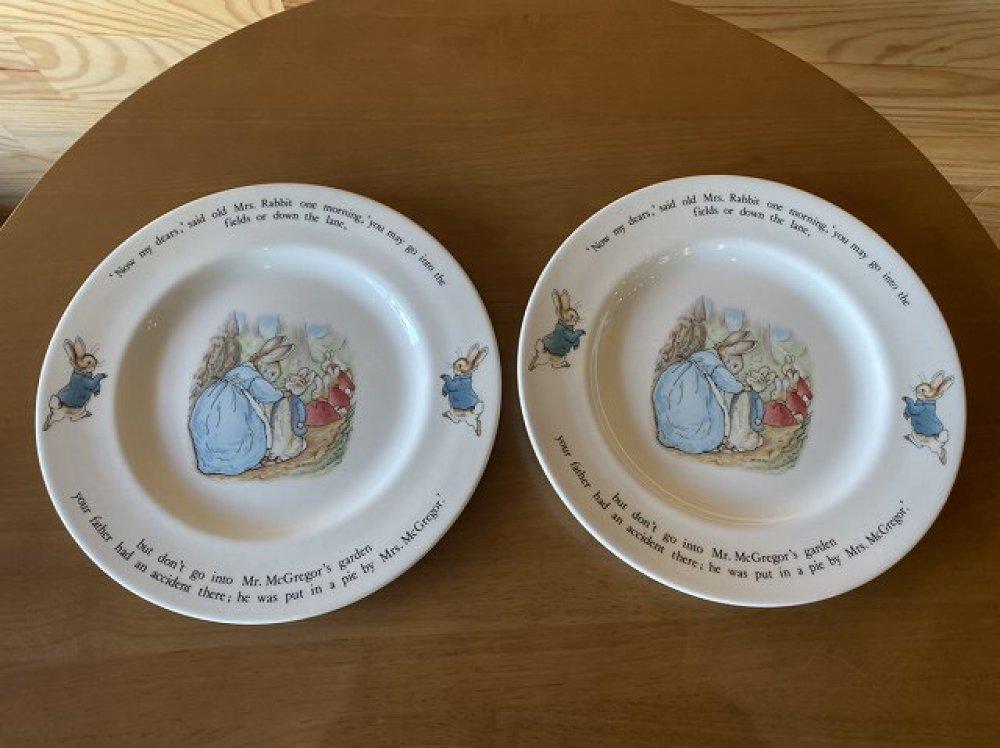 WEDGWOOD ウェッジウッド ピーターラビット お皿 6点セット ブランド食器買取   長野県松本市 写真3
