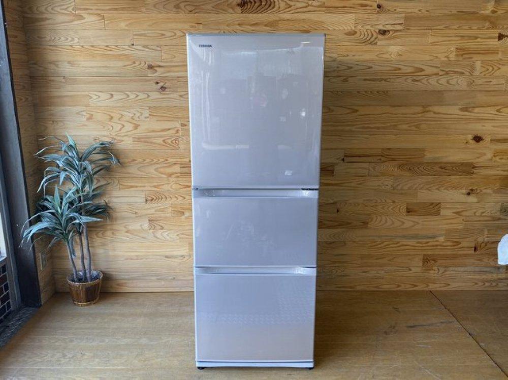 東芝 TOSHIBA 冷凍冷蔵庫 GR-H34S(NP) 330L 冷凍84L 冷蔵246L 2016年製 出張買取   長野県安曇野市