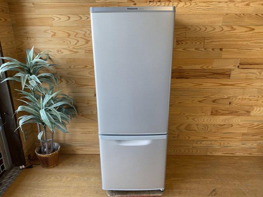 Panasonic パナソニック 冷凍冷蔵庫 NR-B179W-S 167L 2017年製 出張買取   長野県松本市