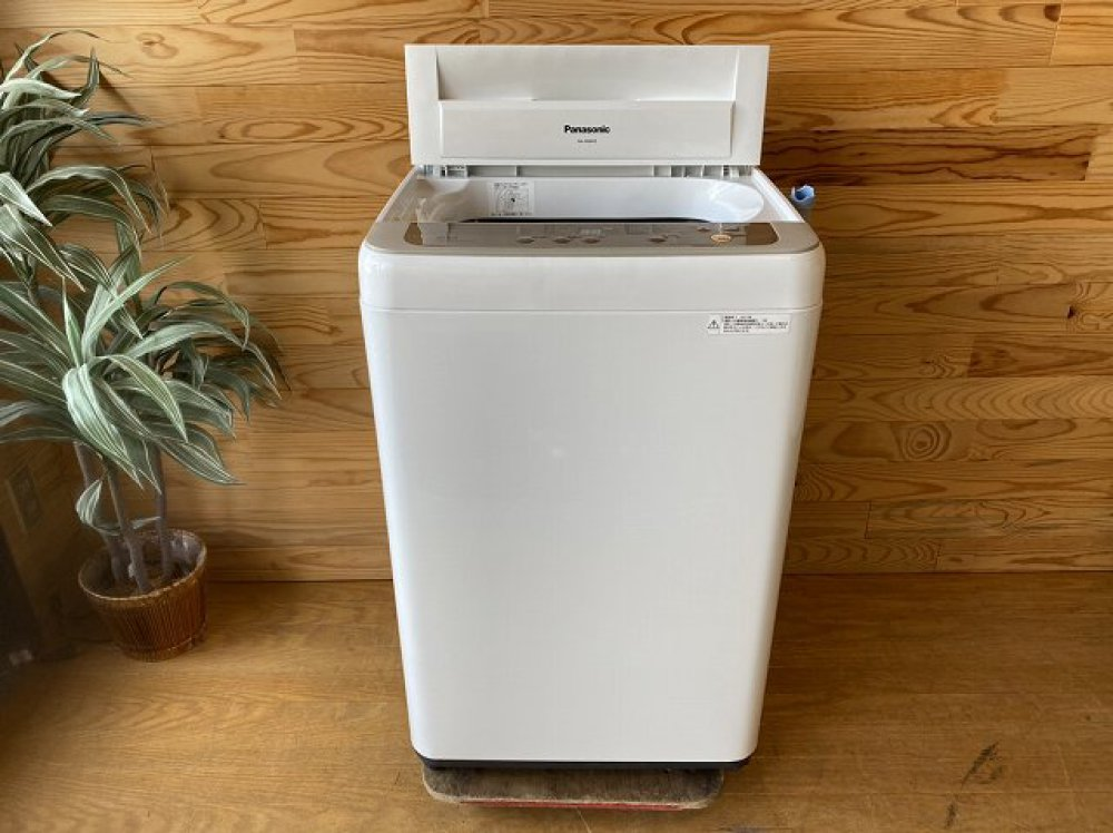 Panasonic パナソニック 全自動洗濯機 NA-F60B10 6.0kg 2017年製 出張買取   長野県上田市