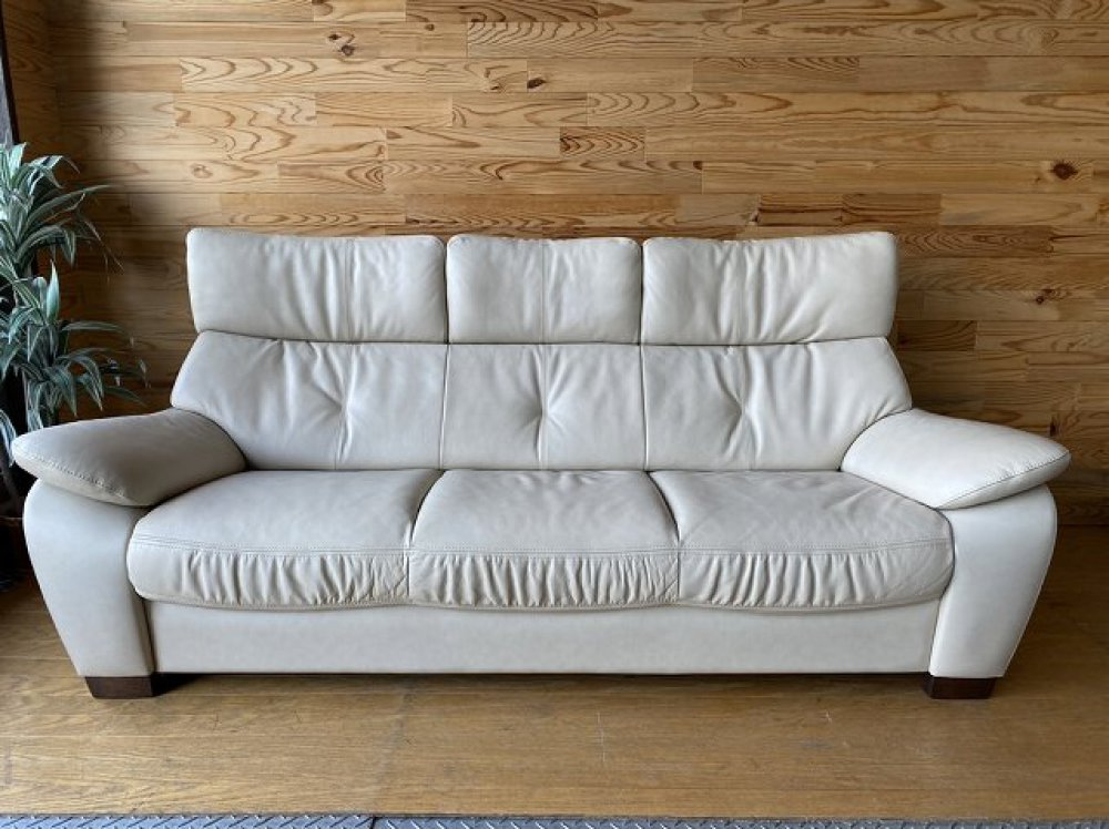 karimoku カリモク 3人掛けソファ 長椅子 出張買取 | 長野県茅野市