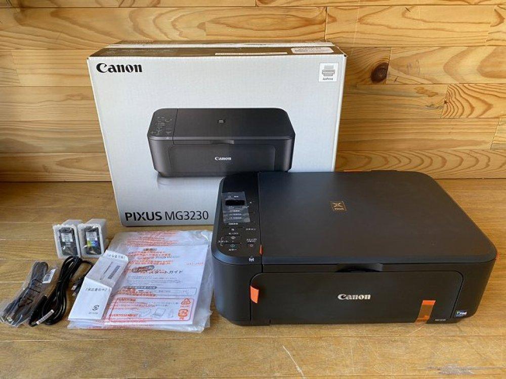 Canon PIXUS インクジェットプリンター MG3230 家電 買取   長野県塩尻市