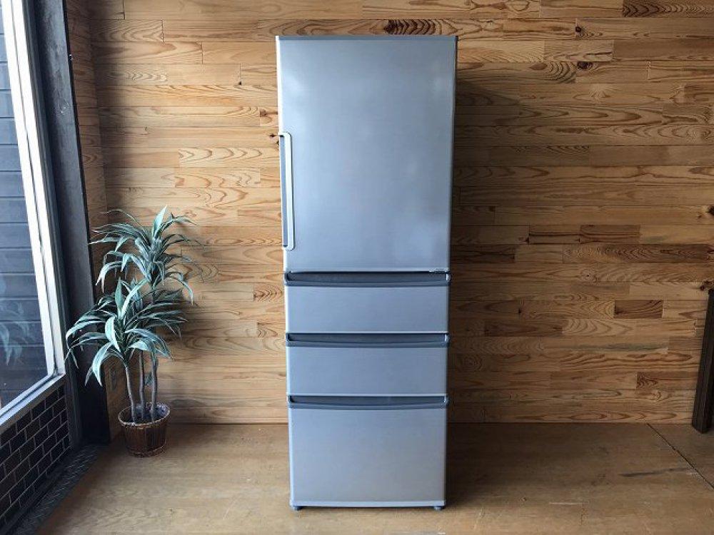 AQUA 冷凍冷蔵庫 AQR-361F(S)-1 355L 出張買取 |長野県松本市