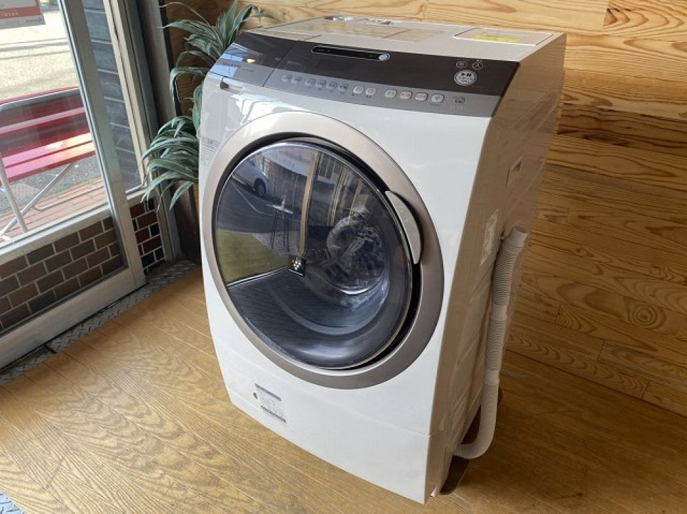 SHARP ドラム式洗濯乾燥機 ES-Z200-NL 9kg 出張買取 |長野県安曇野市