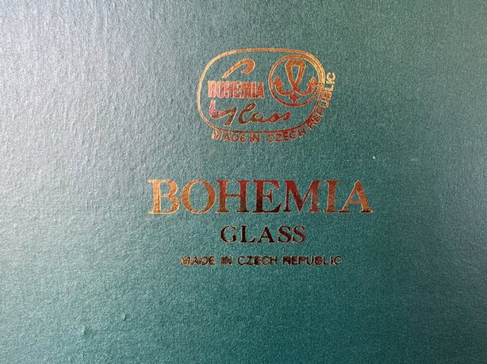 BOHEMIA GLASS ボヘミアグラス チェコ製 買取  長野県安曇野市 写真3