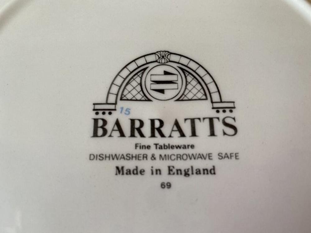 BARRATTS バラッツ プレート カップセット イギリス製 食器 買取 |長野県松本市 写真3