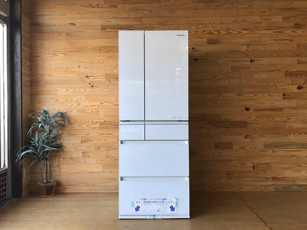 未使用 パナソニック 6ドア 冷凍冷蔵庫 NR-F604HPX-W フレンチドア 大容量 プレミアムモデル ナノイーX 出張買取   長野県上田市