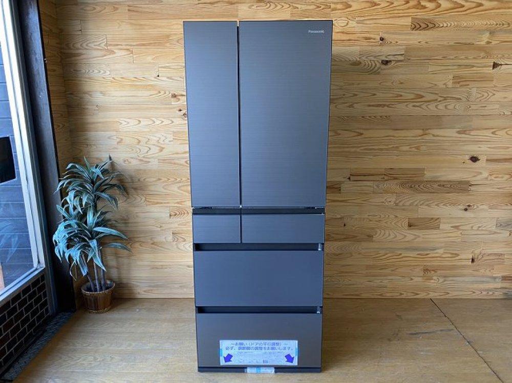 未使用展示品 Panasonic NR-F555WPX-H形 550L 6ドア冷蔵庫 出張買取 | 長野県佐久市 写真1