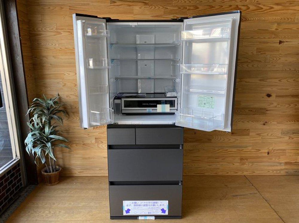 未使用展示品 Panasonic NR-F555WPX-H形 550L 6ドア冷蔵庫 出張買取 | 長野県佐久市 写真2