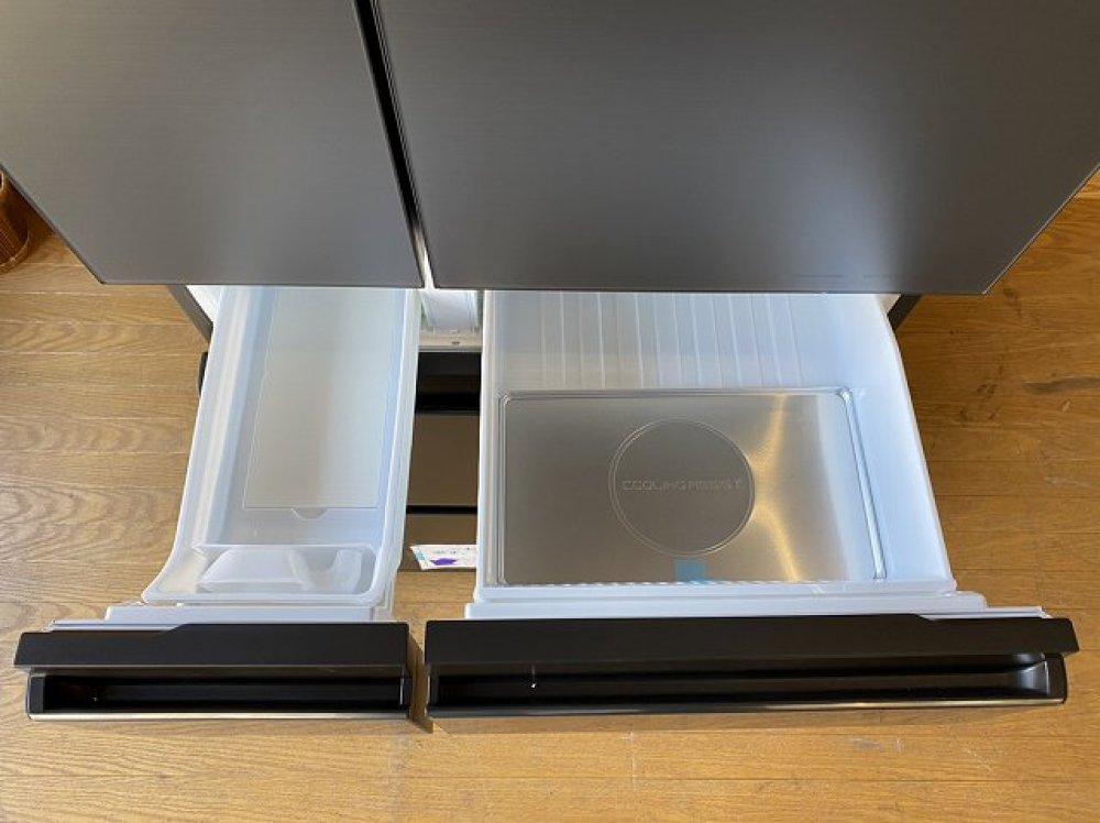 未使用展示品 Panasonic NR-F555WPX-H形 550L 6ドア冷蔵庫 出張買取 | 長野県佐久市 写真5