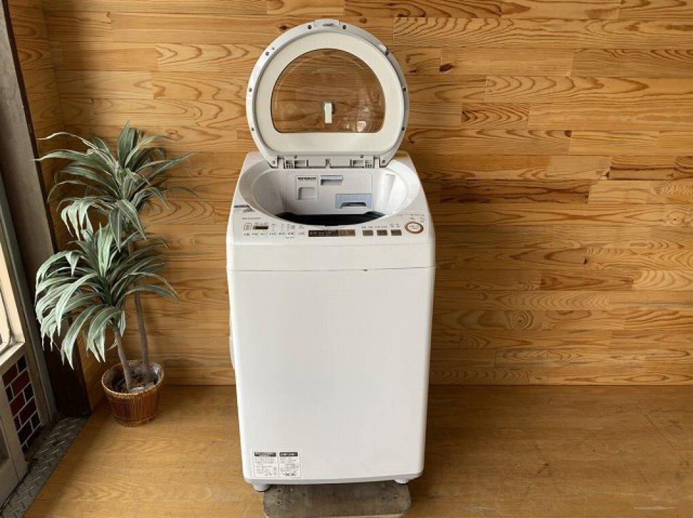 SHARP 洗濯乾燥機 ES-TX9A-N 9kg 出張買取 |長野県松本市