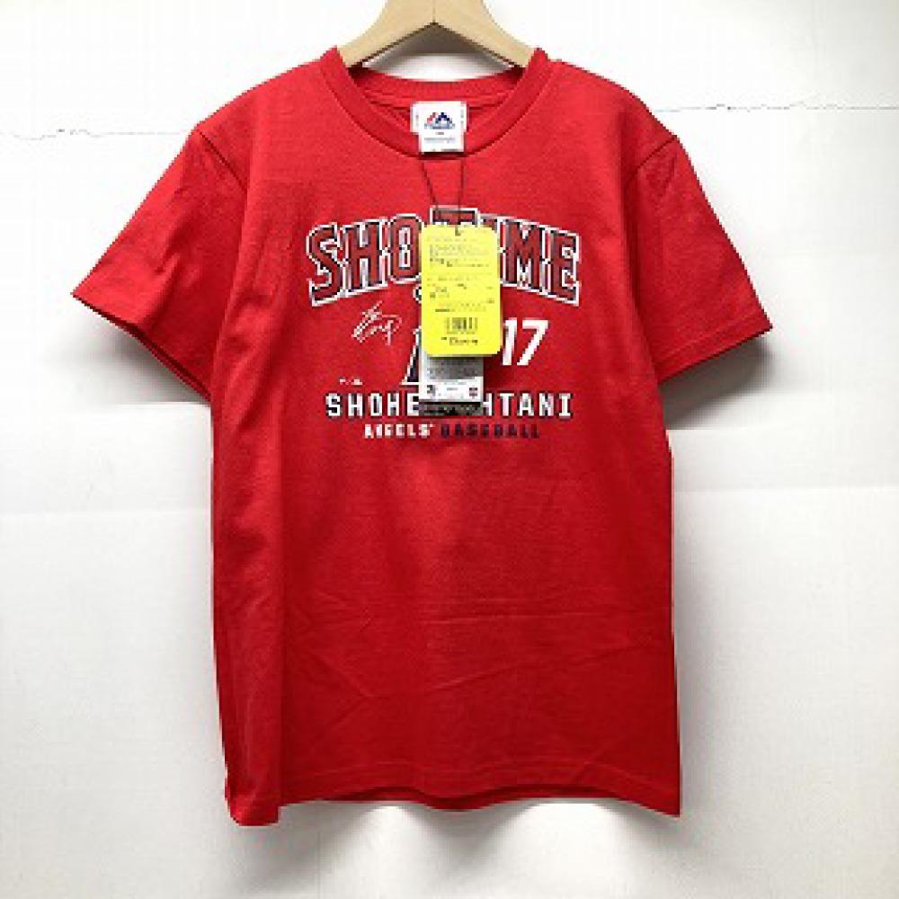 松本市 古着買取 | 大谷翔平 キッズ Tシャツ 赤 写真1
